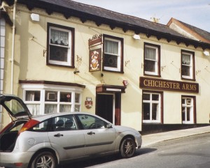 Chichester Arms Pilton Street 2004