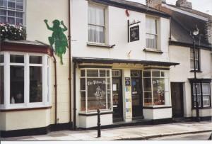 Pilton Fryer Fish and Chips and the climbing Green Man ( Jim Ev